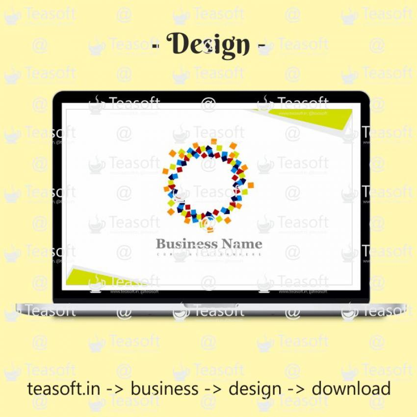 Business Visiting Card Front Back Vector Design 2
