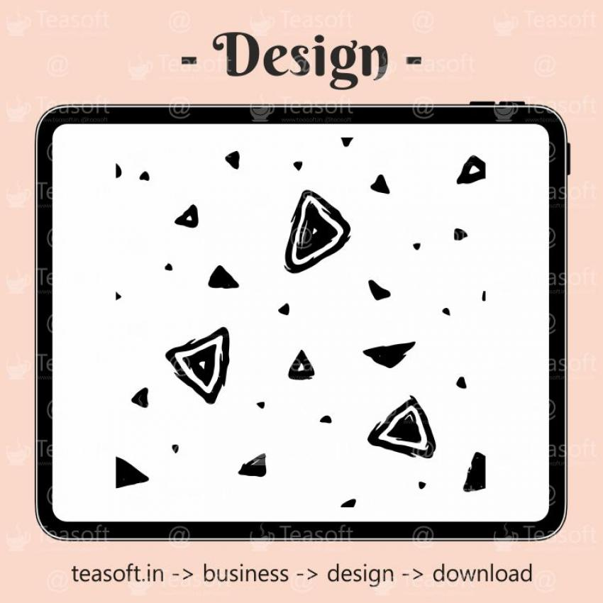 Abstract Icons Background Illustration Vector Design template