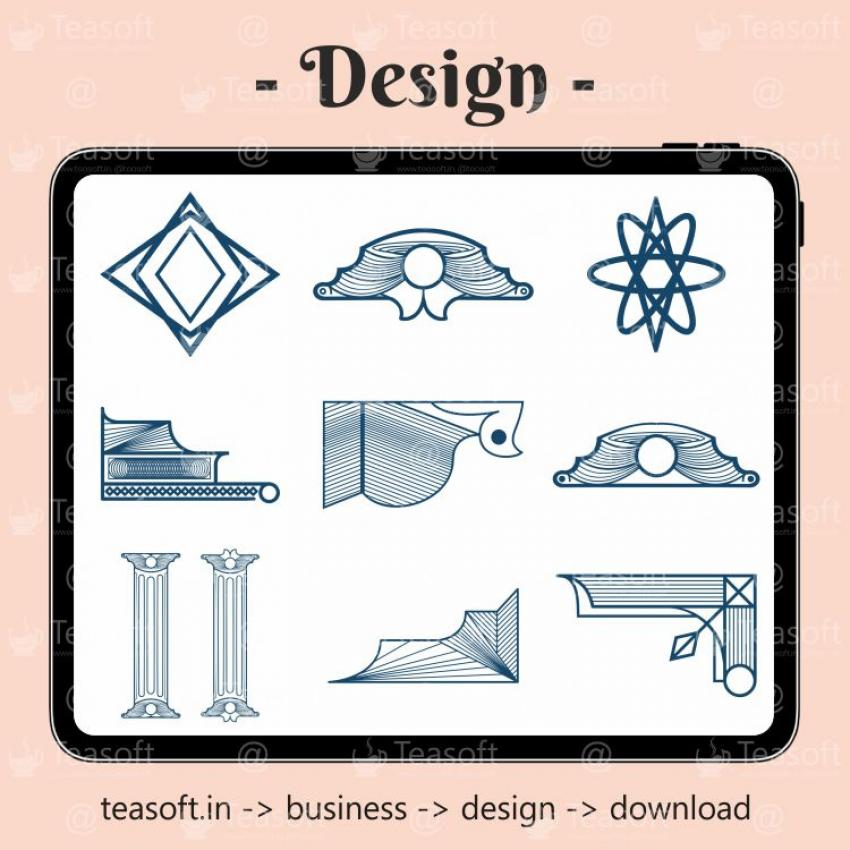 Traditional Icons Logo Illustration Vector Design template