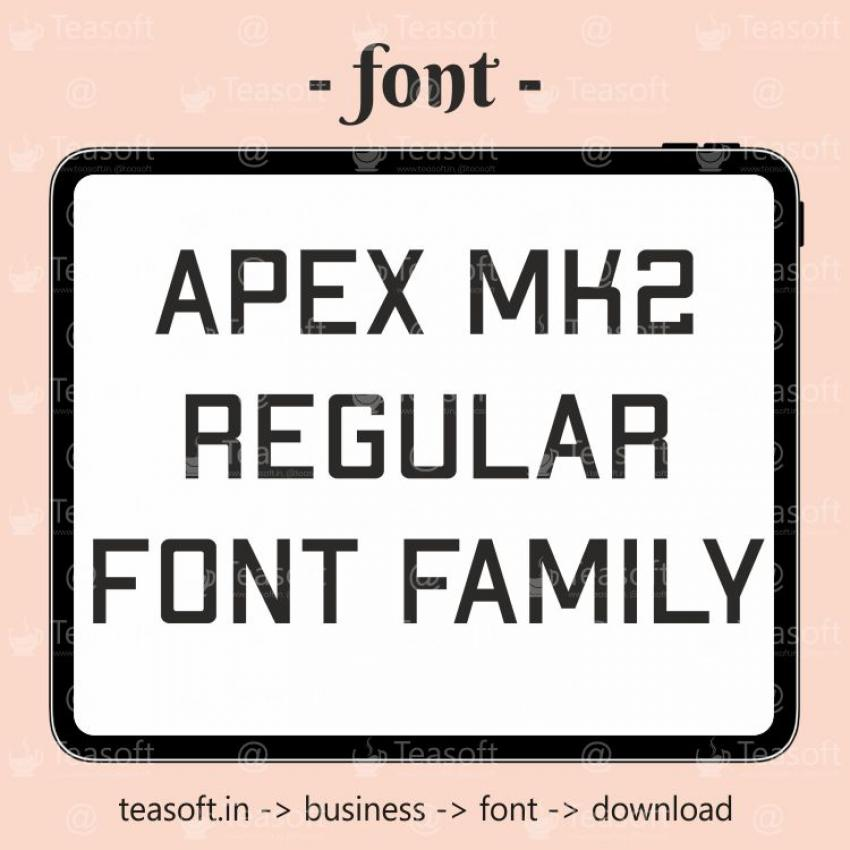 ApexMk2 Bold Extended Handwriting Beautiful & fast Font